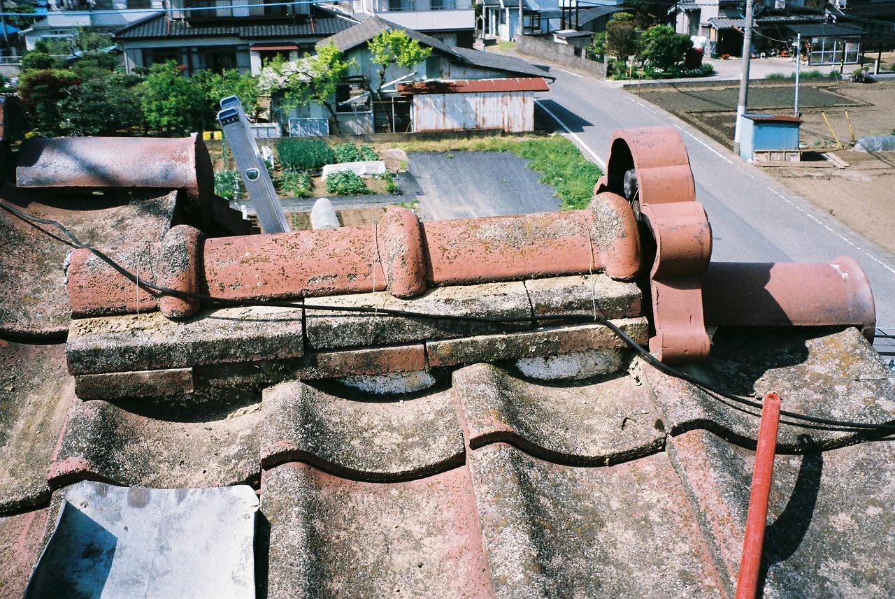 埼玉県坂戸市屋根漆喰工事施工前
