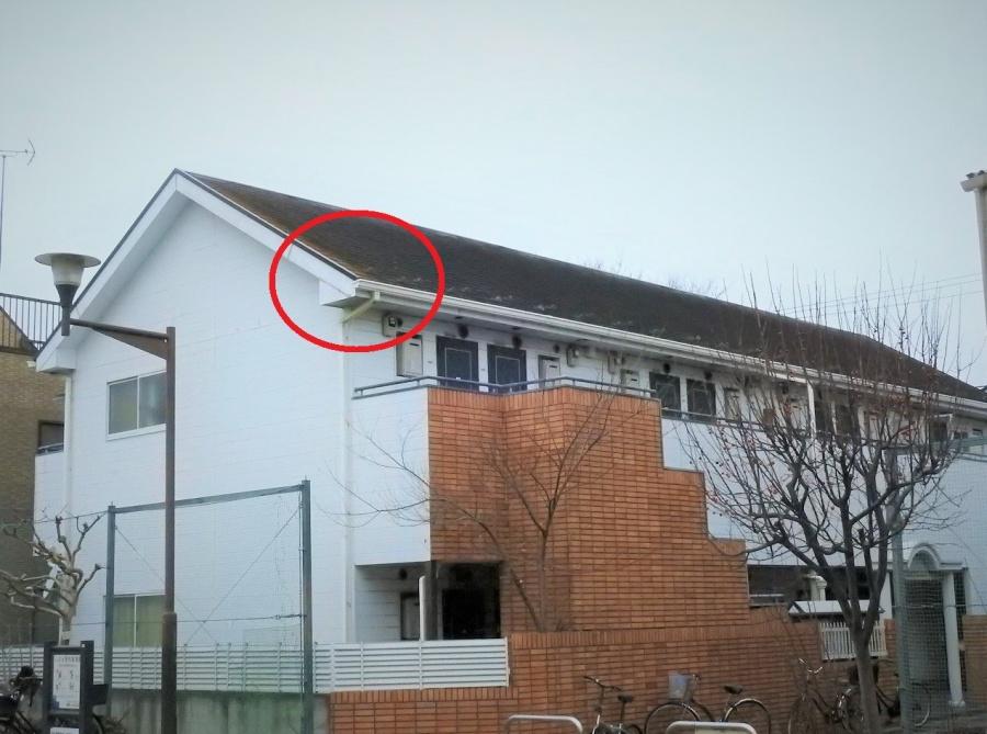 築32年のスレート屋根劣化状