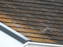 築32年のスレート屋根劣化状況