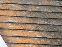築32年のスレート屋根劣化拡大