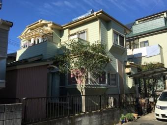 埼玉県川越金属屋根カバー工法外壁塗装