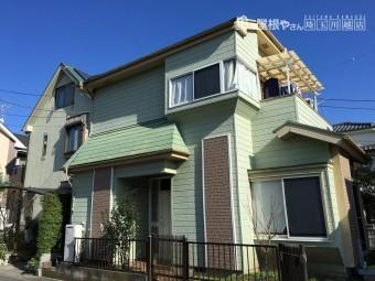 埼玉県川越屋根金属カバー外壁塗装工事