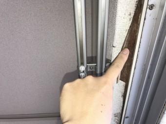 埼玉県所沢市赤外線による集合住宅雨漏り調査