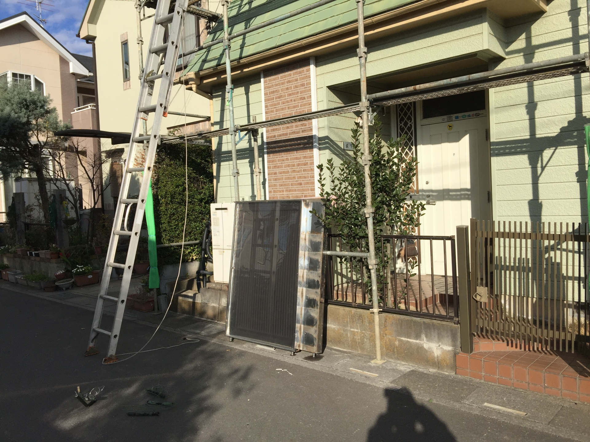 埼玉県川越市ソーラーパネル撤去