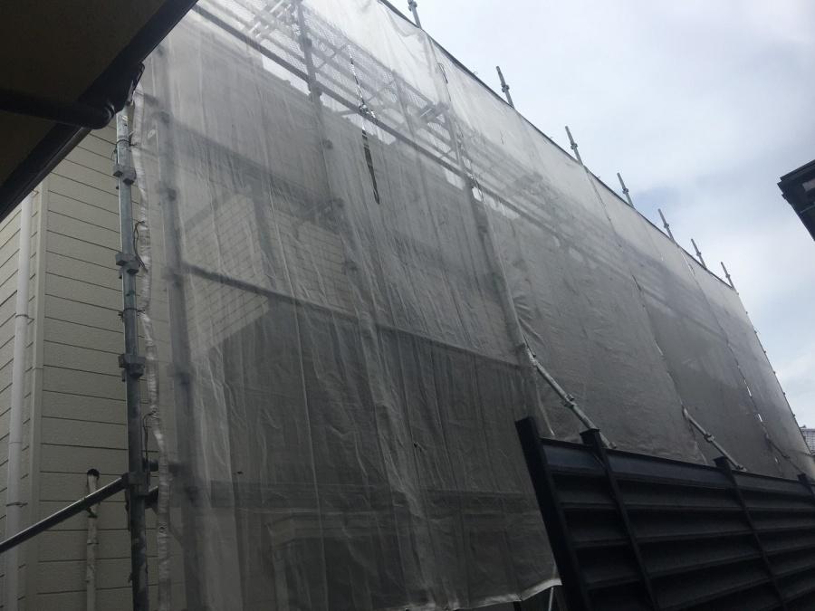 埼玉県川越市アパートハト小屋雨漏り