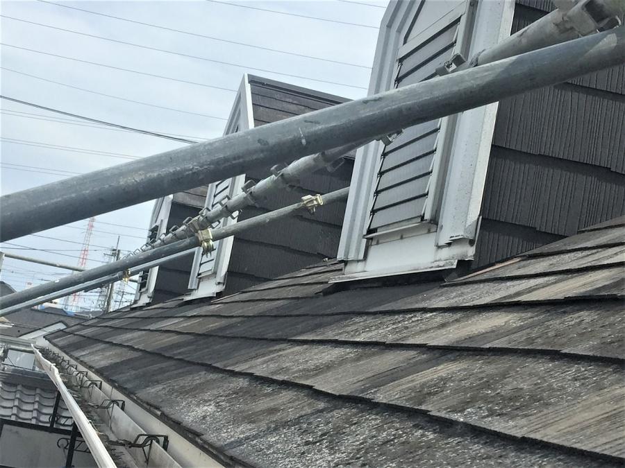 埼玉県川越市アパートのハト小屋雨漏り対策コーキング工事完工