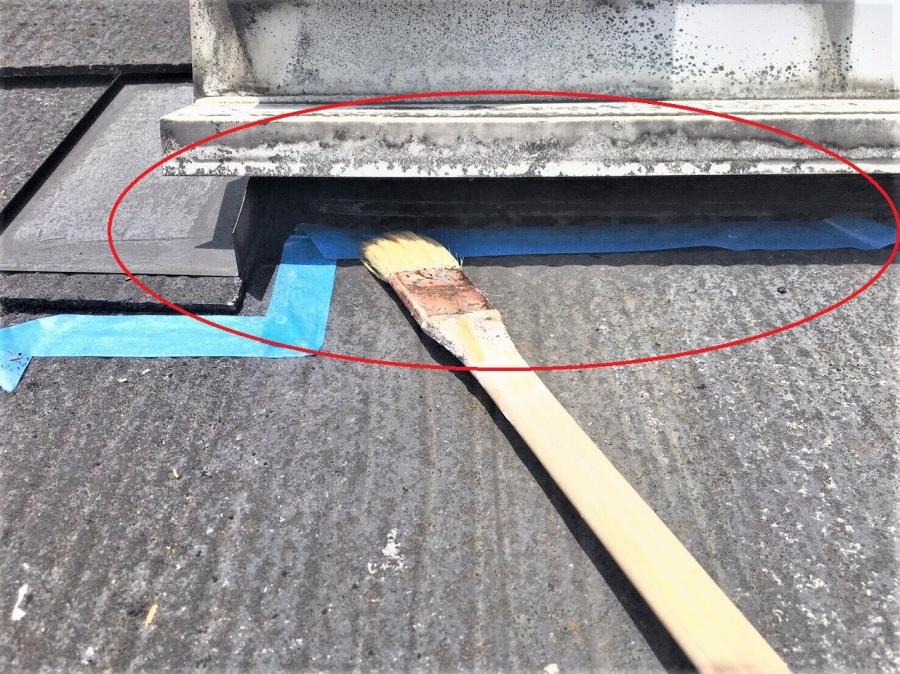 埼玉県川越市アパート雨漏り対策工