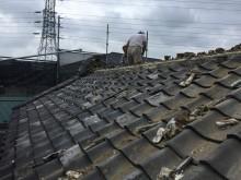 埼玉県川越市の蔵金属屋根葺き替え土葺き屋根撤去
