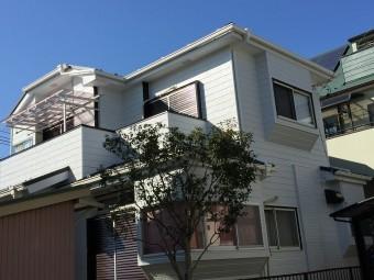 埼玉県川越金属屋根カバー外壁塗装完工