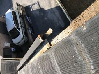 台風被害屋根ケラバ板金飛散