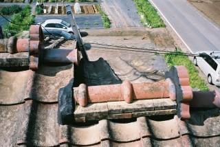 埼玉県坂戸市屋根漆喰工事施工後
